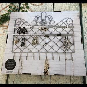 Storage & Organization - New jewelry wall hanger metal necklace earrings
